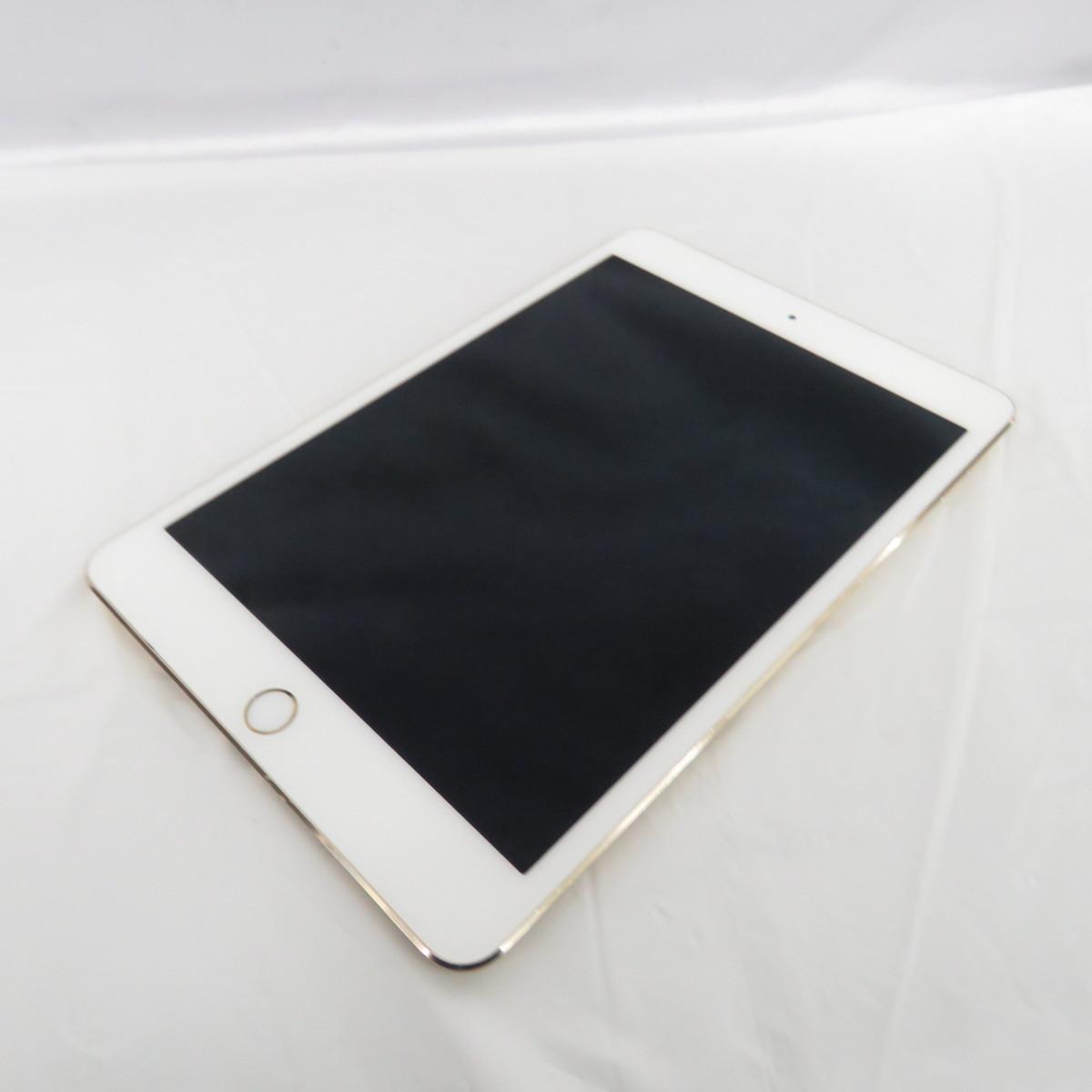 【中古品】Apple アップル タブレット iPad mini4 128GB MK9Q2J/A Wi-Fiモデル ゴールド 本体のみ 10674287