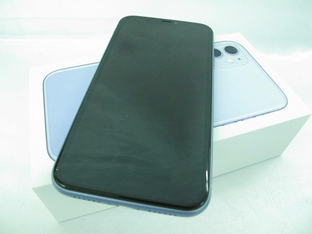 【美品】国内版SIMフリー スマートフォン apple iPhone 11 256GB MWMC2J/A パープル 10670827