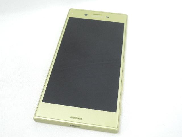 1円~【中古品】au by KDDI エーユー スマートフォン Sony Xperia XZs SOV35 シトラス 判定○ 10668932