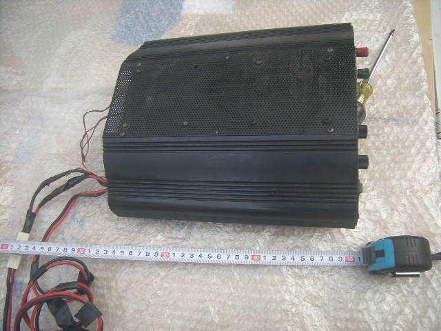 スカイハンター VP-50 UHFブースター+DC,DC内蔵 ジャンク。_画像2