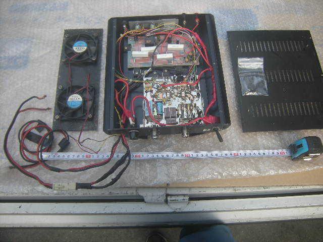 スカイハンター VP-50 UHFブースター+DC,DC内蔵 ジャンク。_画像4