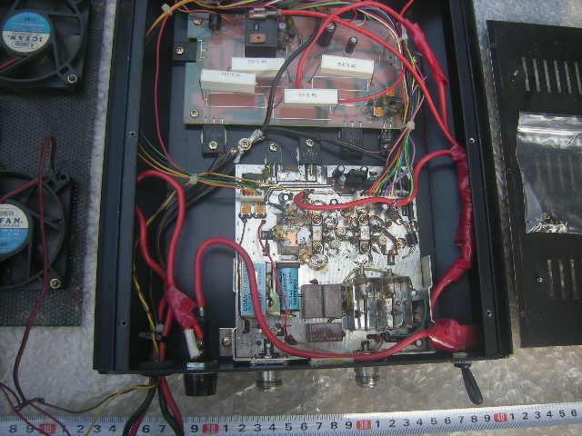 スカイハンター VP-50 UHFブースター+DC,DC内蔵 ジャンク。_画像5