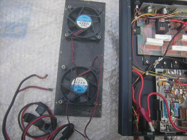 スカイハンター VP-50 UHFブースター+DC,DC内蔵 ジャンク。_画像6