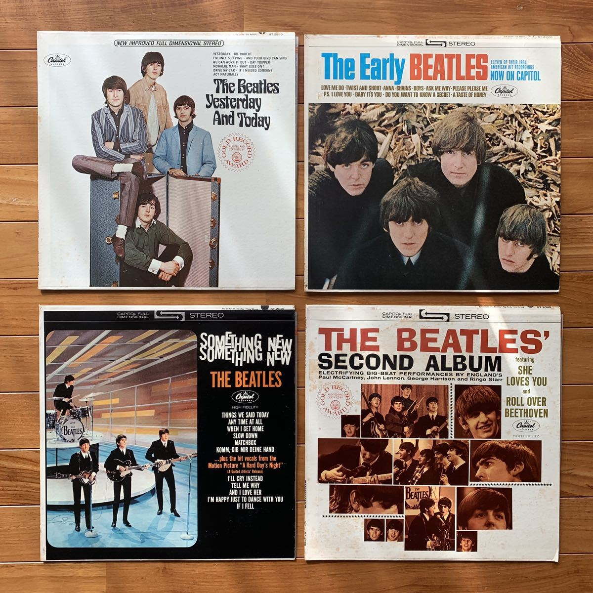THE BEATLES FRC レコードセット ビートルズ コレクター レア Help Rubber Soul