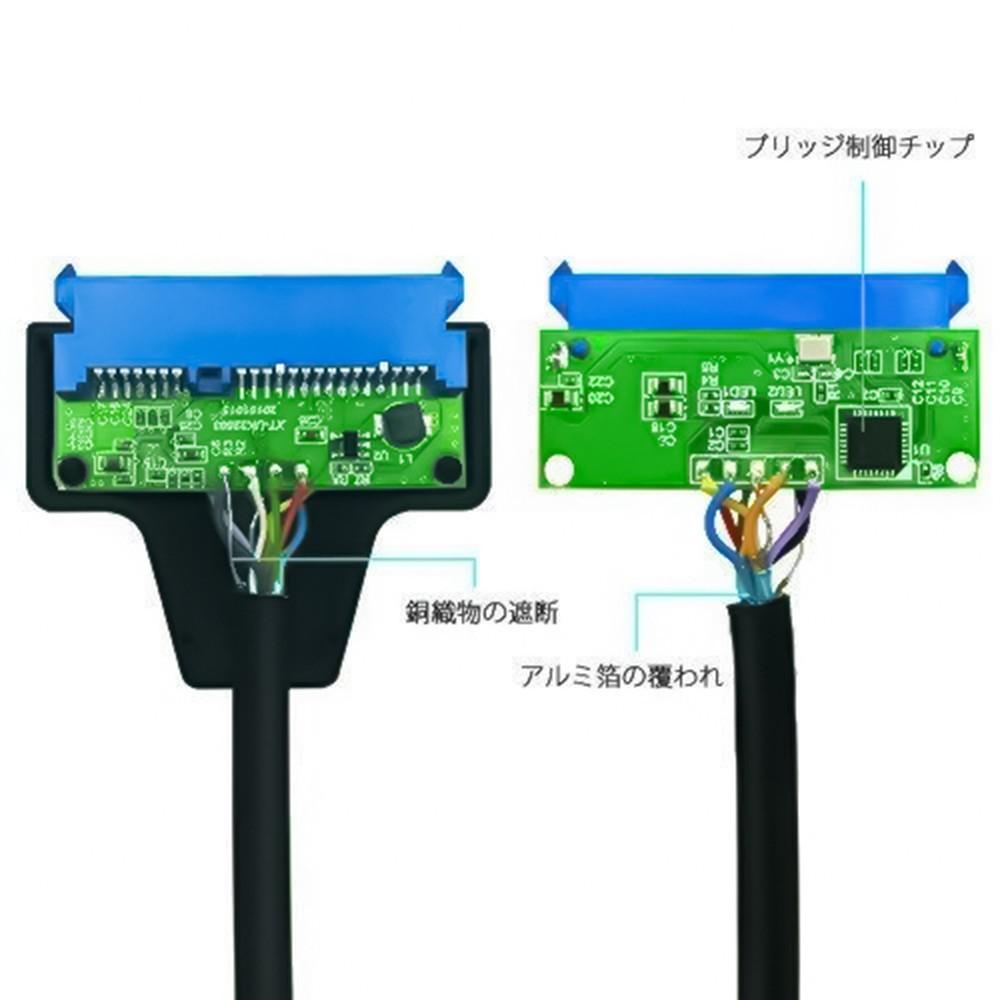 SATA-USB3.0 変換ケーブル 2.5インチHDD・SSD用
