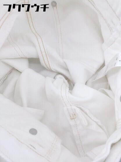 ◇ SLY スライ カットオフ デニム ジーンズ パンツ サイズ2 ホワイト レディース_画像6