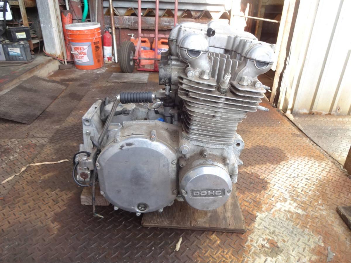 「当時物 KZ1000系 オリジナル コンプリート エンジン 引き取り希望!」の画像1