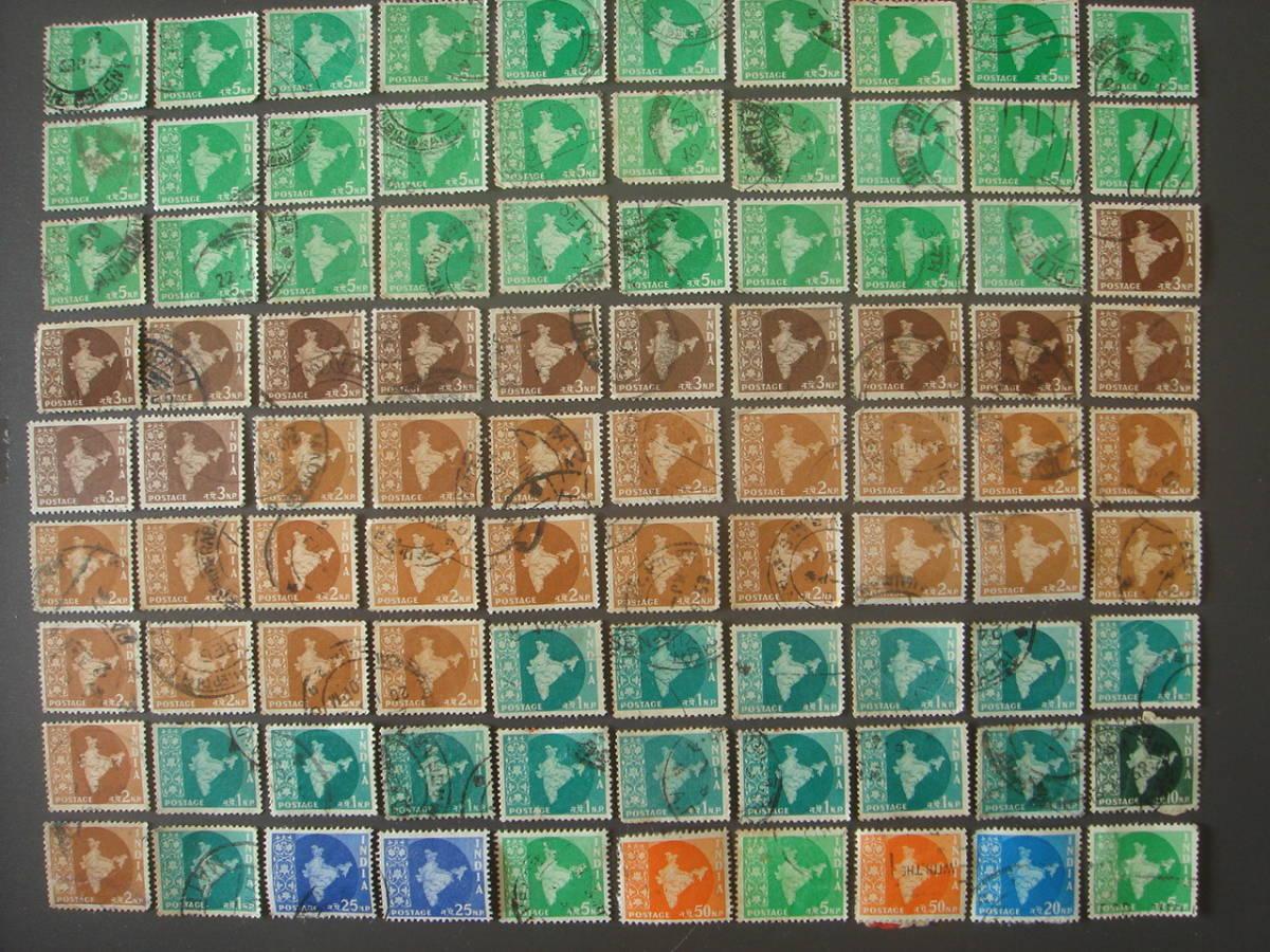 インド切手 消印_画像1