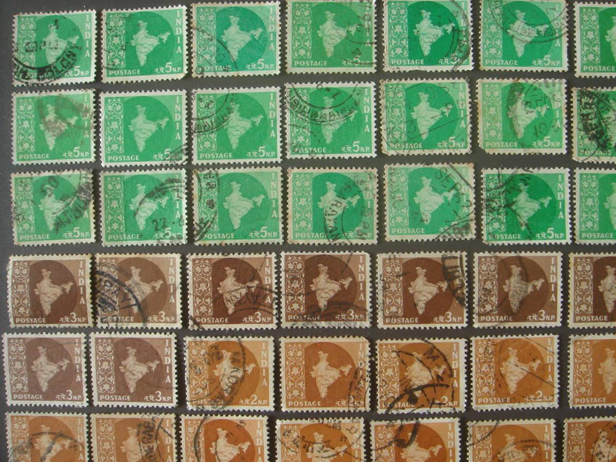 インド切手 消印_画像2