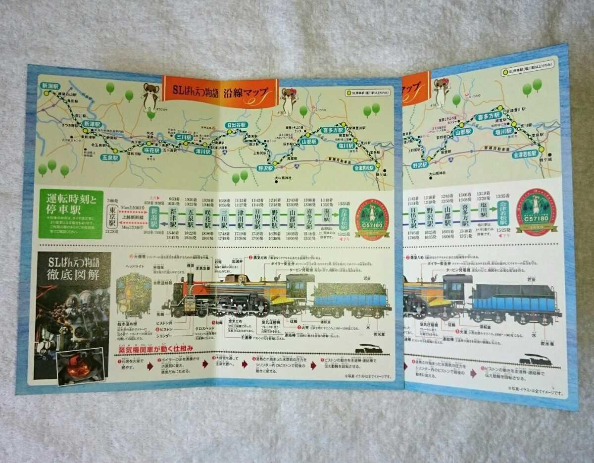 【限定】JR東日本 新潟支社 SLばんえつ物語 乗車手帳 2016・2冊セット_画像4