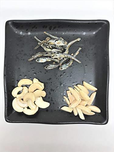 送料無料・ 小魚アーモンド(カシューナッツ入り)500G お徳用パック(不揃い商品) 国産小魚 チャック袋入り_画像5