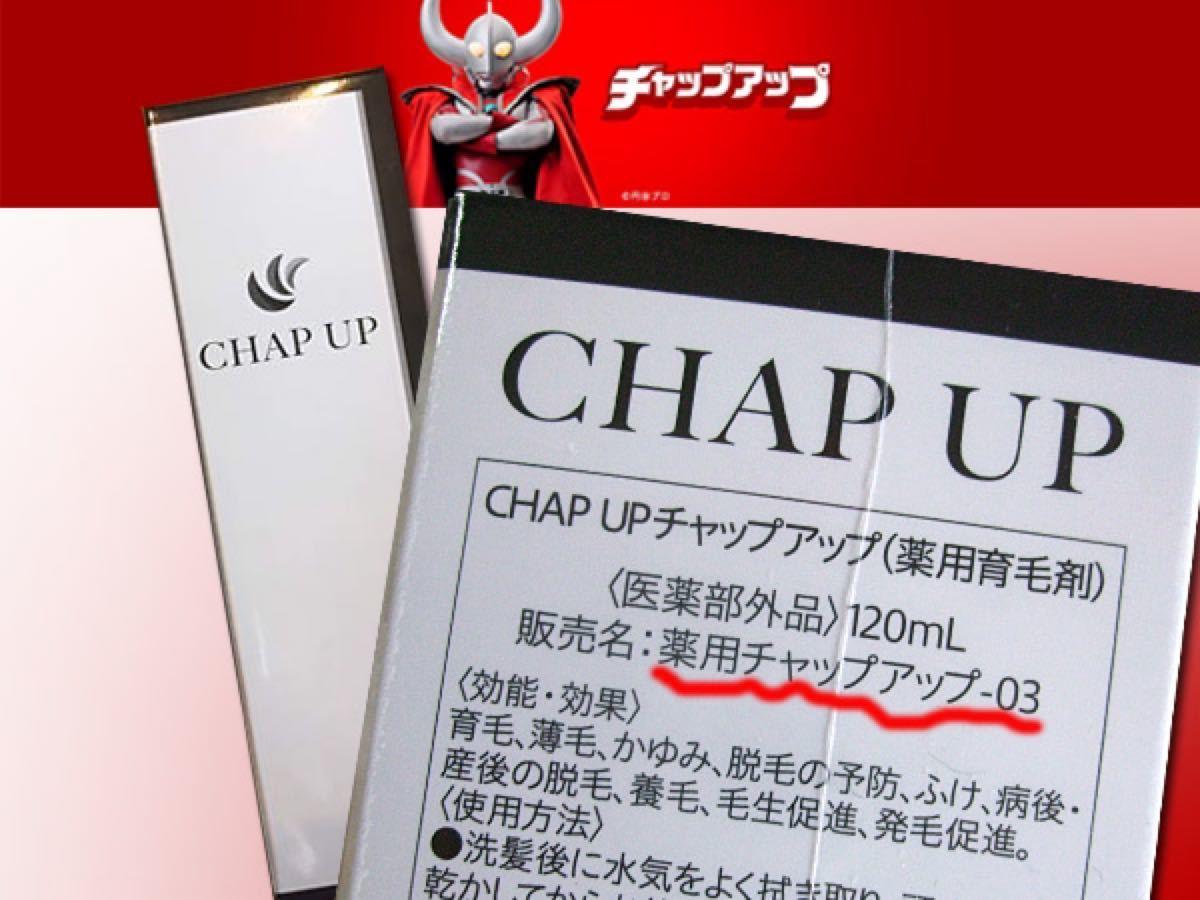 送料無料 新品未開封 NEW 3代目 CHAPUP チャップアップ  薬用育毛剤