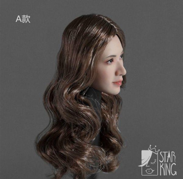 StarKingToys SK001A 女性 アシア美人 1/6スケール アクションフィギュア用 ヘッド T5076 _画像3