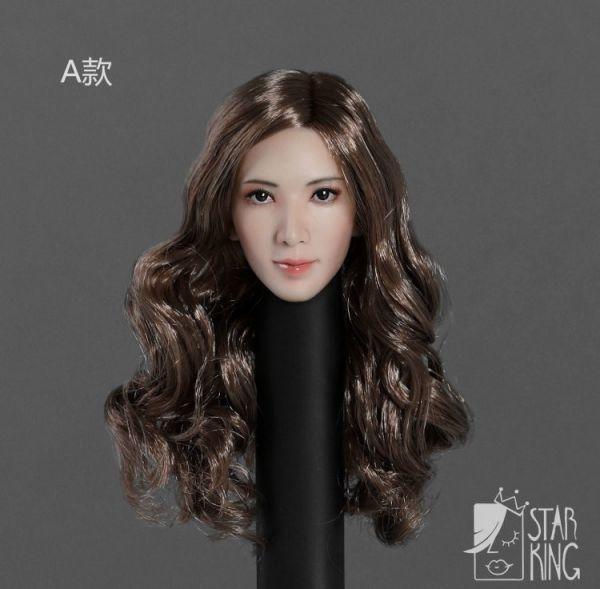 StarKingToys SK001A 女性 アシア美人 1/6スケール アクションフィギュア用 ヘッド T5076 _画像1