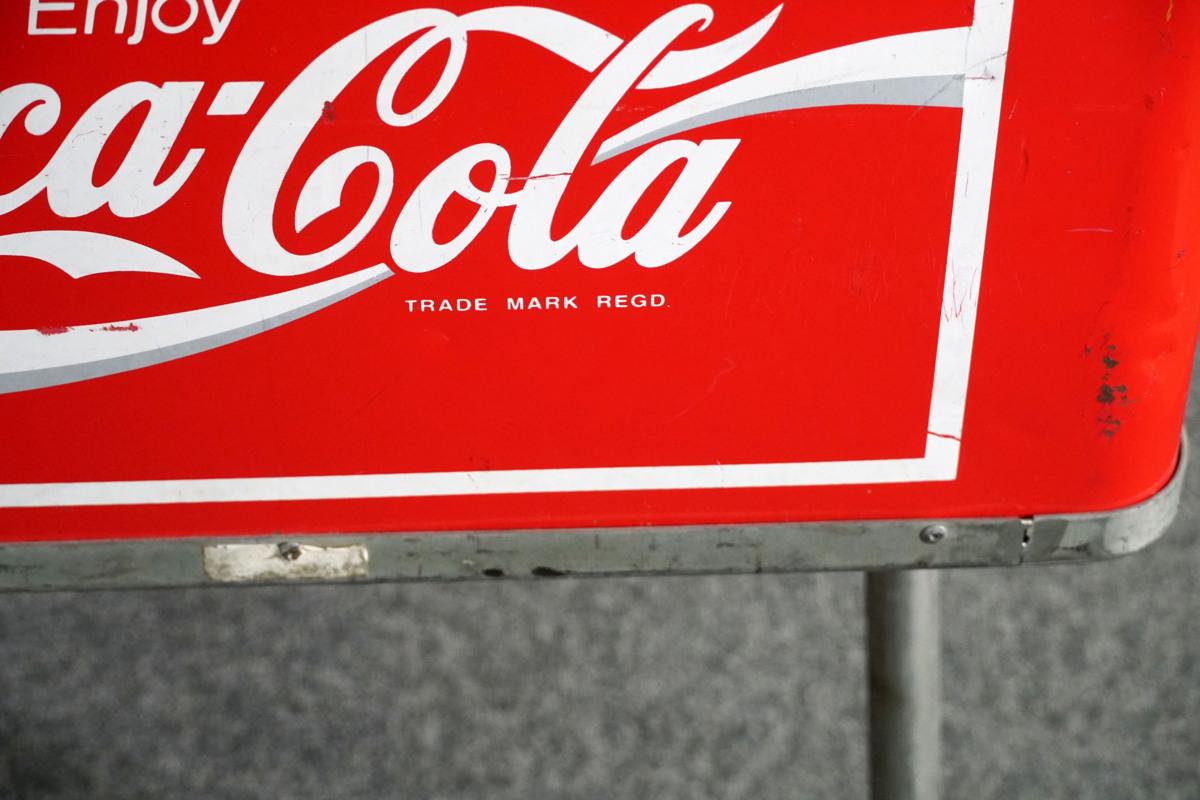 AR2915◆店舗什器◆どぶづけ◆クーラーボックス◆コカ・コーラ◆Coca-Cola◆W950 H825 D560_画像10