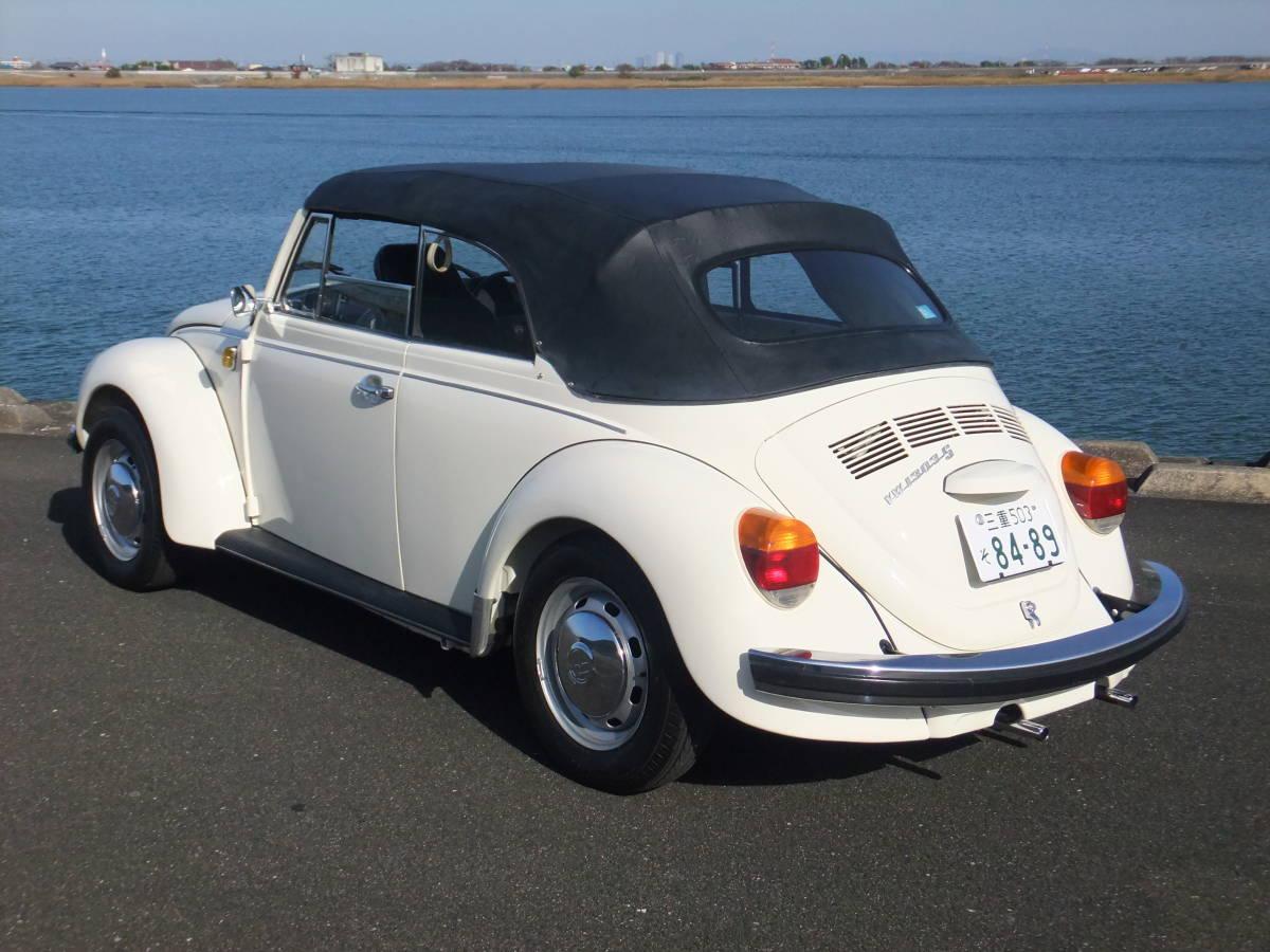「【低走行、レストア済】VWビートル 1303S カブリオレ ディーラ車 」の画像3