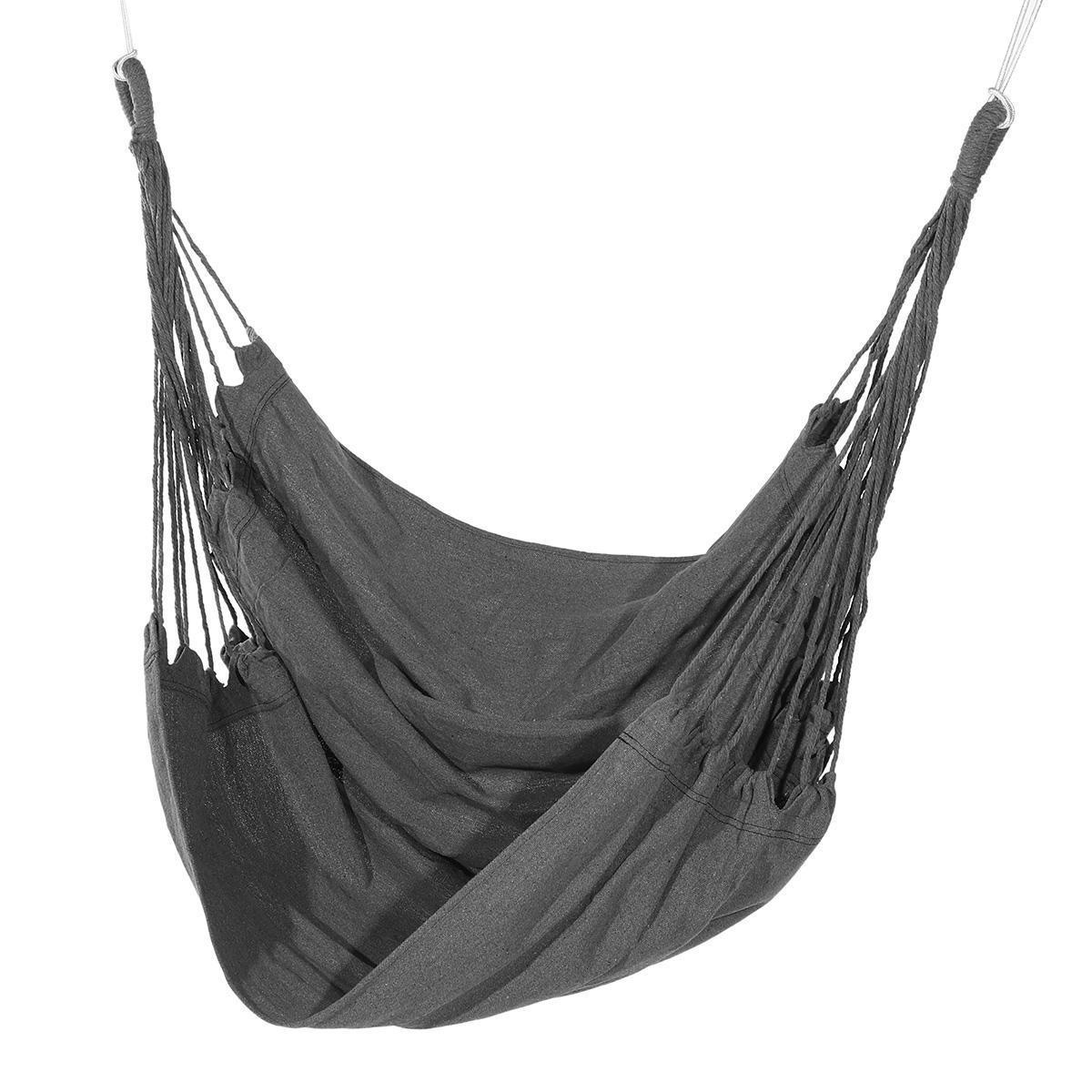 北欧スタイルハンモック屋外屋内ガーデン寮の寝室の吊椅子子供のための大人のスイングシングル安全椅子H402_画像4