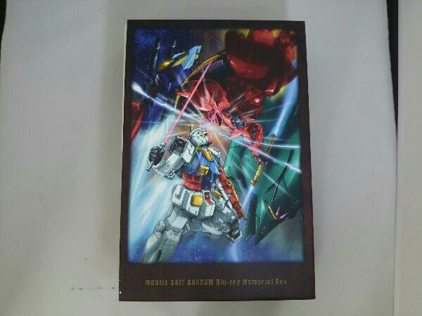 ジャンク [箱日焼けあり] 機動戦士ガンダム Blu-ray メモリアルボックス(Blu-ray Disc)_画像1