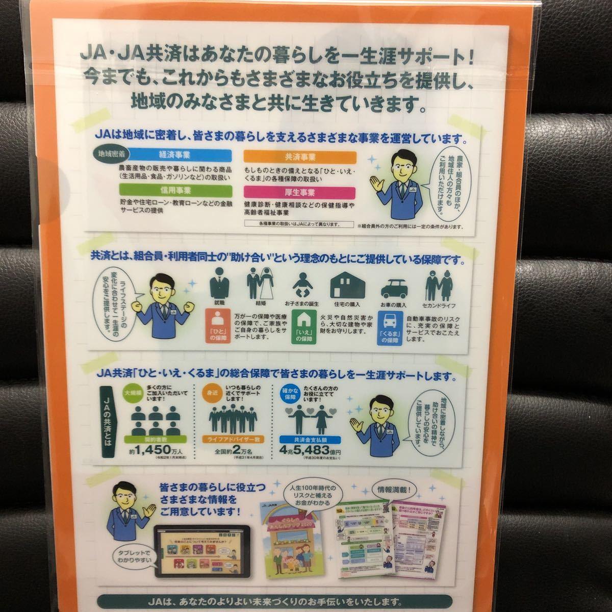 未使用★浜辺美波 非売品 クリアファイル  JA共済 ★_画像3