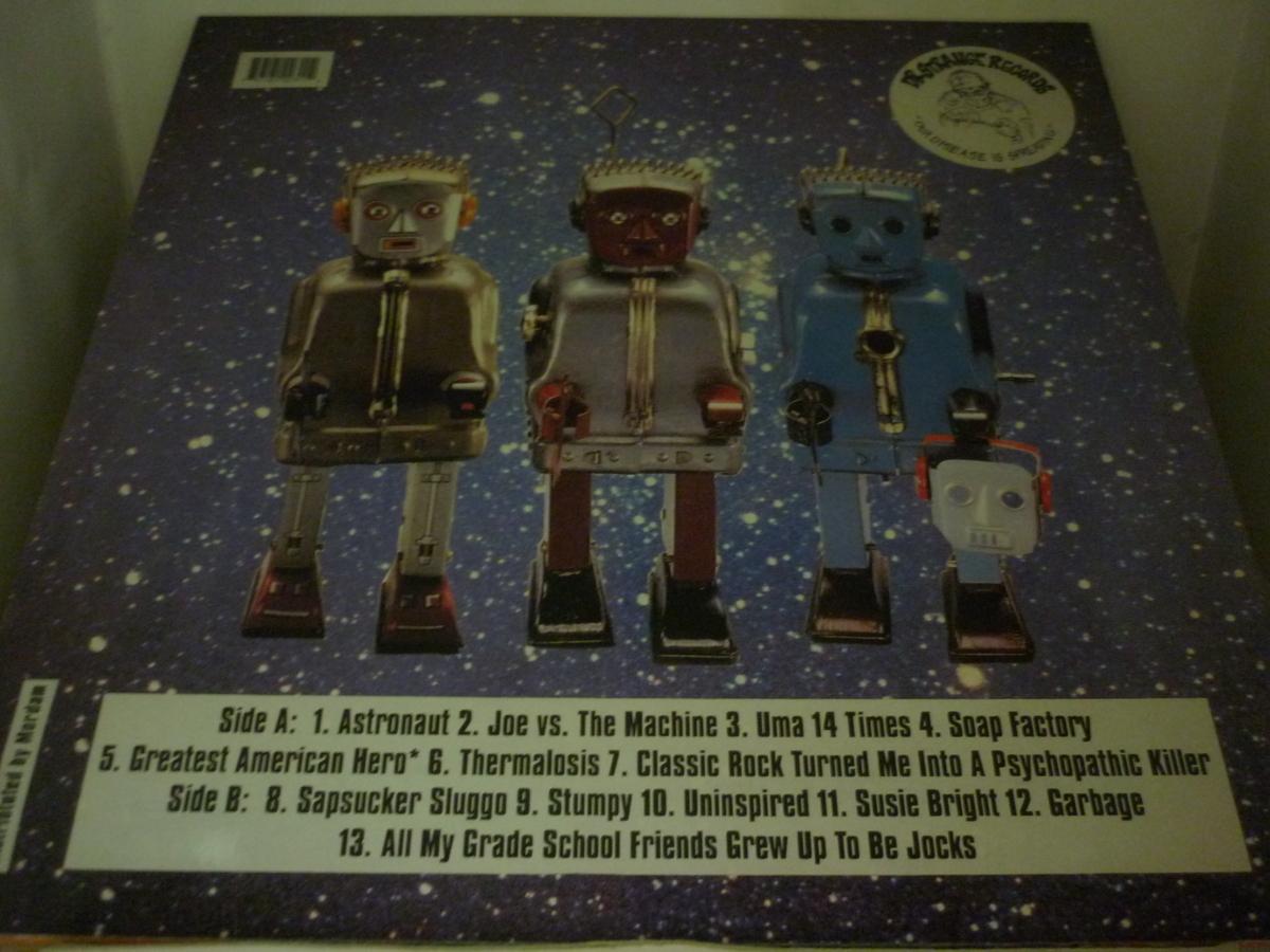 LPA12010 ZOINKS! / BAD MOVE SPACE CADET / 輸入盤LP 盤良好_画像2