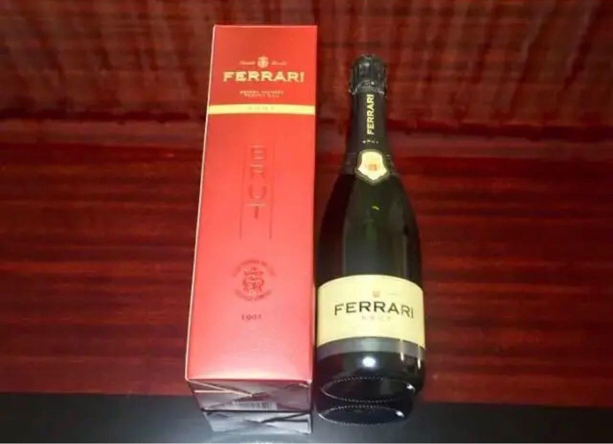 【限定版・値下げ】フェッラーリ ブリュット スパークリングワイン 赤パッケージ 未開封 記念日 パーティー プレゼント