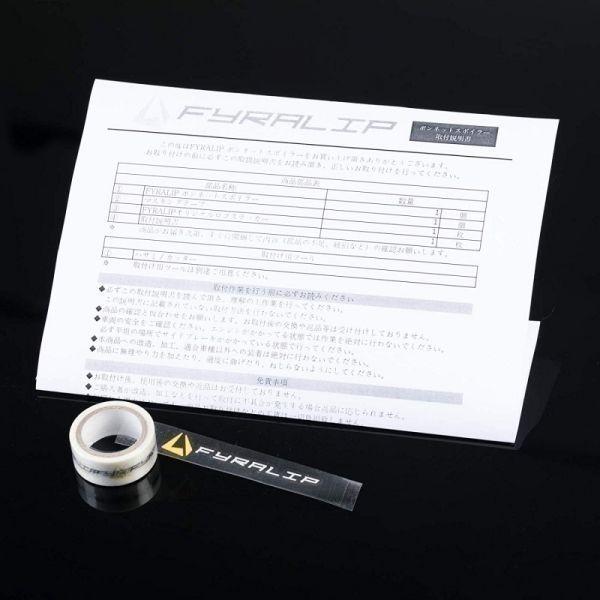 [FYRALIP] トランクスポイラー カスタム塗装 メルセデスベンツ CLKクラス W209 C209 クーペ モデル用 外装 エアロ パーツ 両面テープ取付_画像4