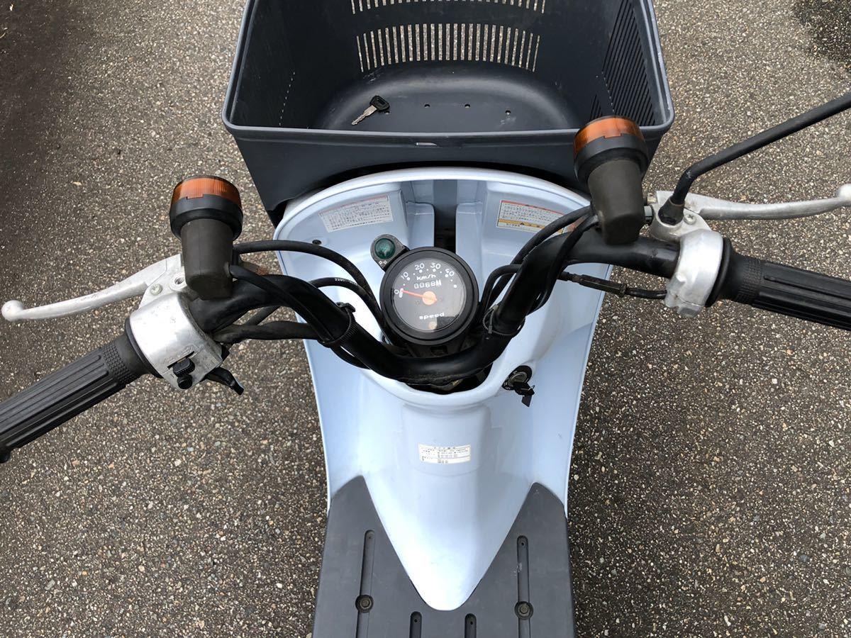 「チョイノリ スズキ 50cc 走行少ない!68km!新車!?富山県高岡市機関良好!」の画像3