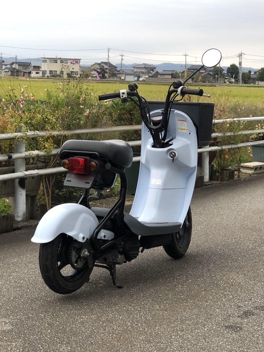 「チョイノリ スズキ 50cc 走行少ない!68km!新車!?富山県高岡市機関良好!」の画像2