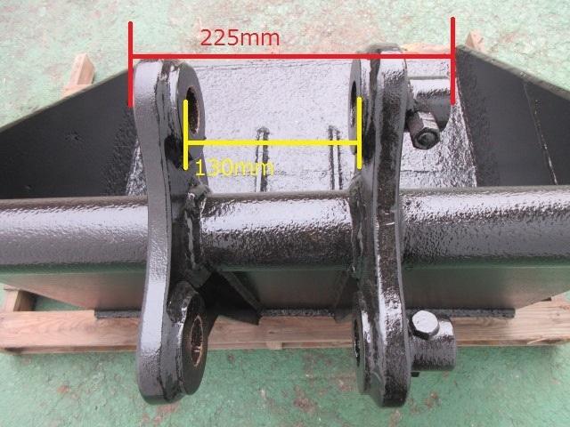FR21 重機 用 法面バケット ピン径37mm 幅780mm ユンボ 建設機械 バケット_画像5