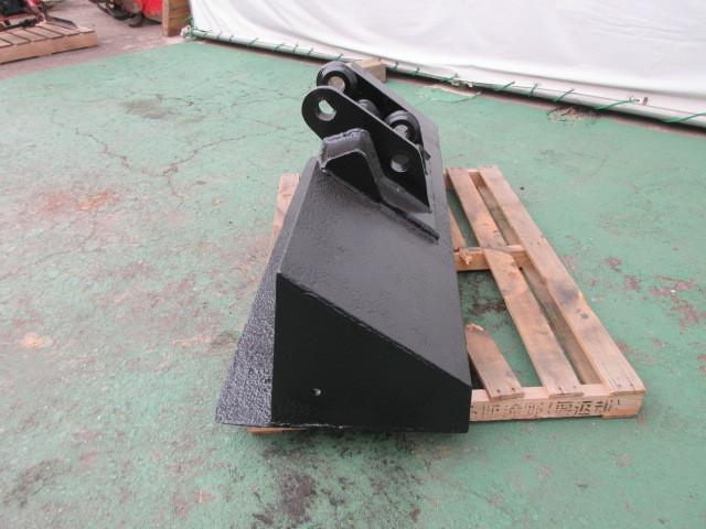 FR23 重機 用 法面バケット ピン径45mm 幅1300mm ユンボ 建設機械 バケット_画像2