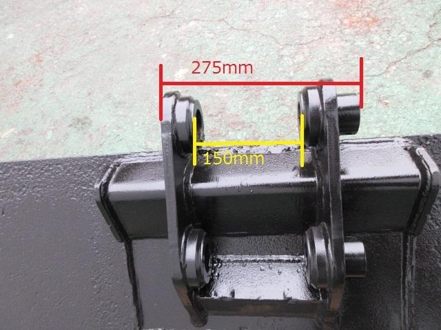 FR23 重機 用 法面バケット ピン径45mm 幅1300mm ユンボ 建設機械 バケット_画像6
