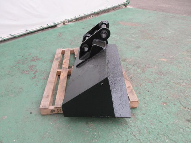 FR23 重機 用 法面バケット ピン径45mm 幅1300mm ユンボ 建設機械 バケット_画像4