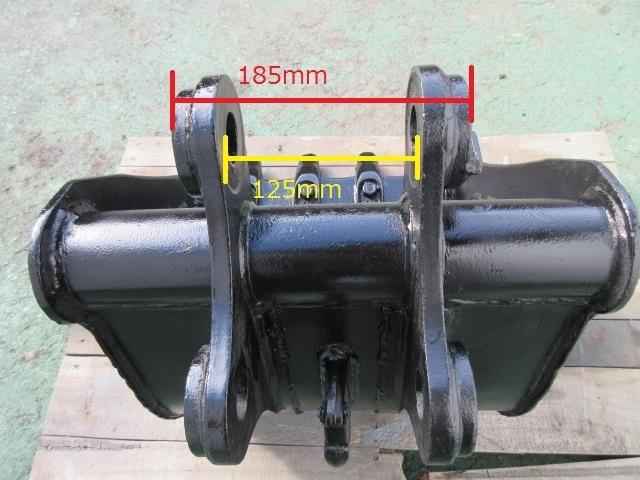 FR42 重機 用 バケット ピン径35mm 幅420mm ユンボ 建設機械_画像9