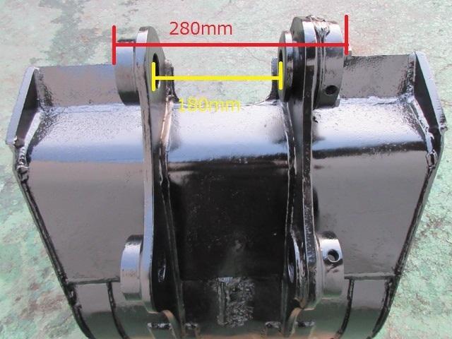 FR52 重機 用 バケット ピン径45mm 幅600mm ユンボ 建設機械 ショベル_画像8
