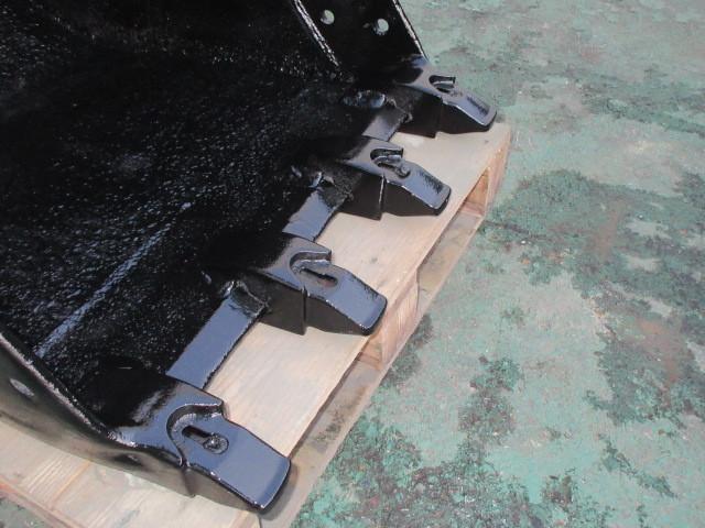 FR52 重機 用 バケット ピン径45mm 幅600mm ユンボ 建設機械 ショベル_画像5