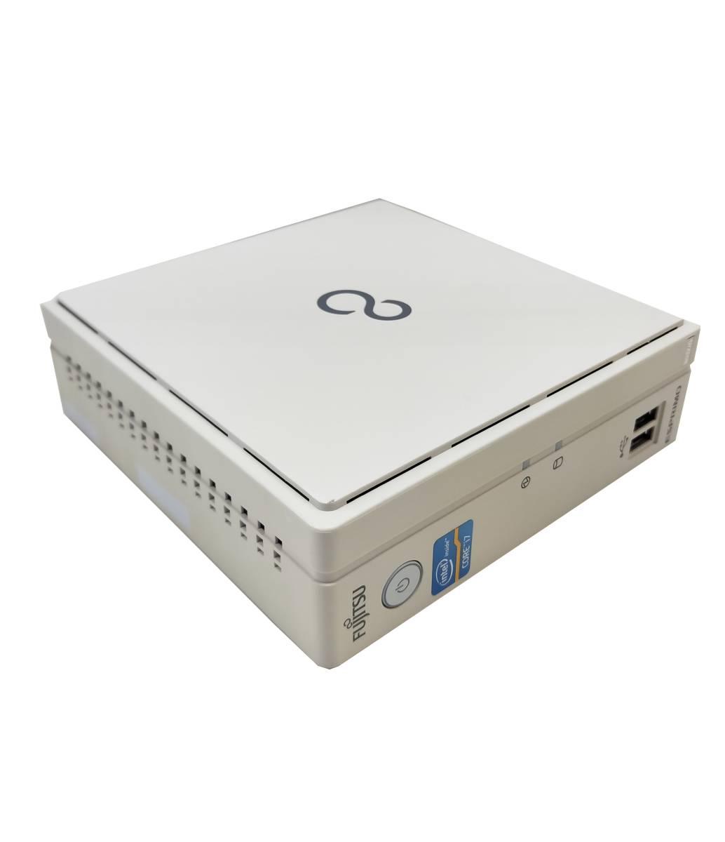 ■驚速 超省スペースタイプ Fujitsu Core i7-3770T 2.5-3.7GHz x8/16GB■新品SSD:960GB Win10/Office2019 Pro/無線 WiFi.■B532/G -5_画像4