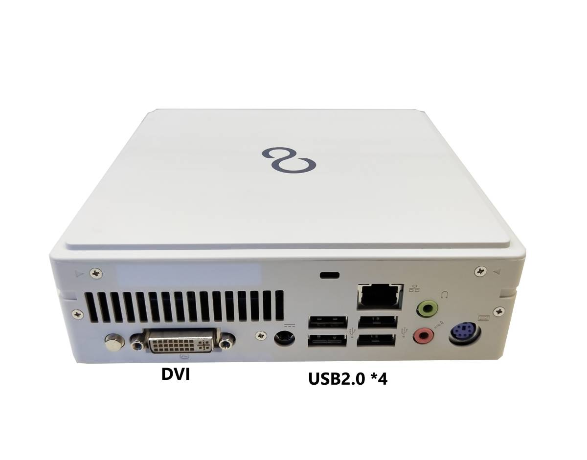 ■驚速 超省スペースタイプ Fujitsu Core i7-3770T 2.5-3.7GHz x8/16GB■新品SSD:960GB Win10/Office2019 Pro/無線 WiFi.■B532/G -5_画像5