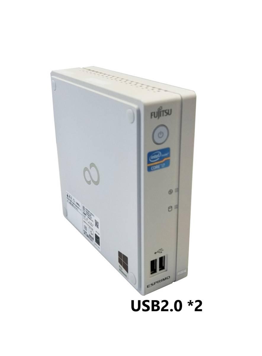 ■驚速 超省スペースタイプ Fujitsu Core i7-3770T 2.5-3.7GHz x8/16GB■新品SSD:960GB Win10/Office2019 Pro/無線 WiFi.■B532/G -5_画像3