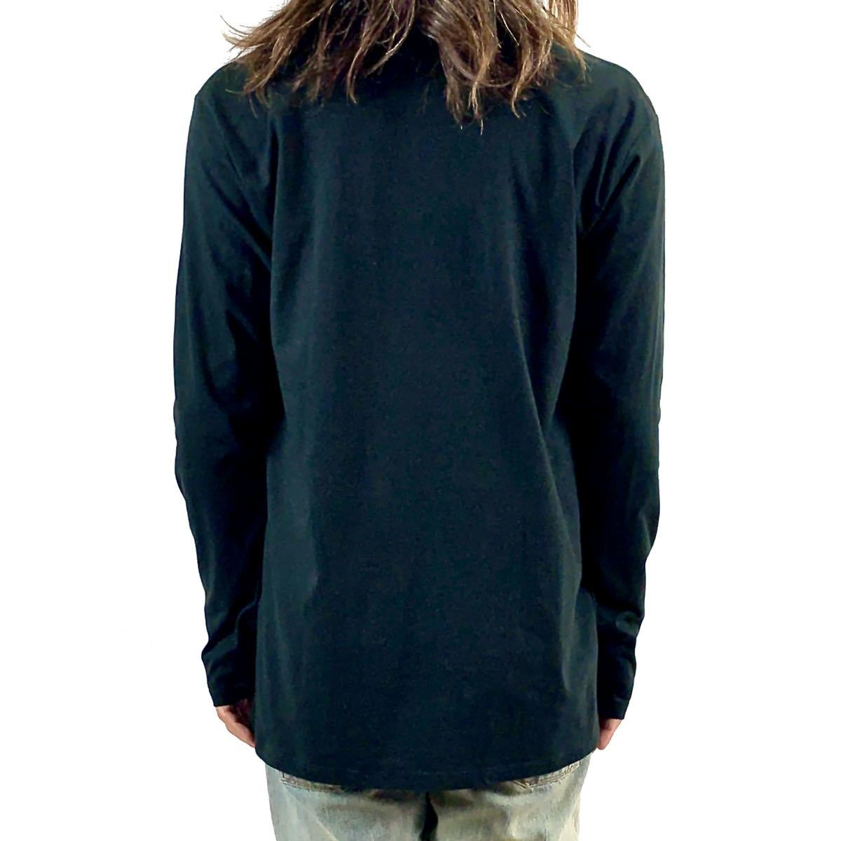 新品 ジミーペイジ レッドツェッペリン ギタリスト ロック バンド 黒 ロンT 長袖 Tシャツ XS S M L XL ビッグ オーバー サイズ XXL~4XL 可_画像4