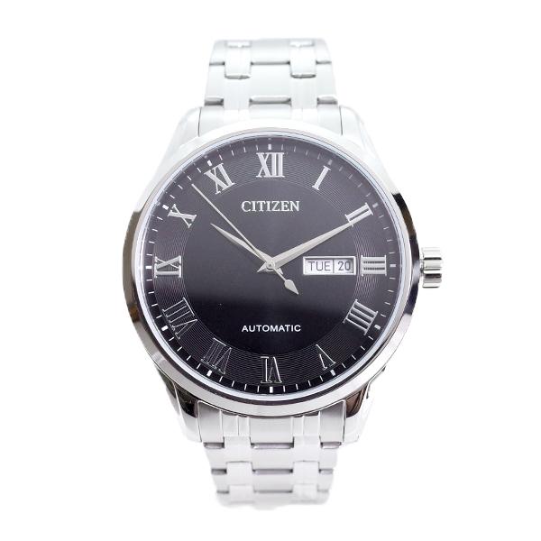 シチズン CITIZEN 腕時計 メンズ NH8360-80E 自動巻き ブラック シルバー_画像2