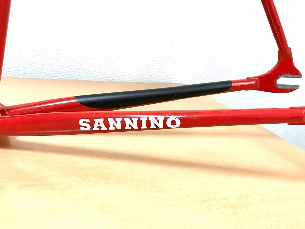 【極上】超希少!sannino pursuit track トラックフレーム サンニーノ campagnolo funny ファニー njs パシュート colnago cinelli laser_画像9