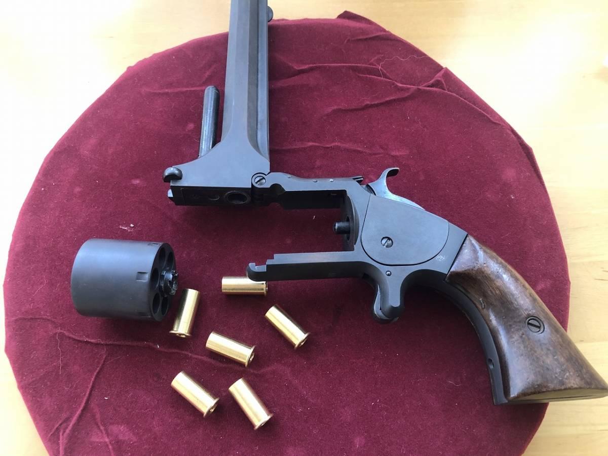 坂本龍馬の銃 S&W Model2 Marushin マルシン HWモデルガン 木製グリップ付_画像8