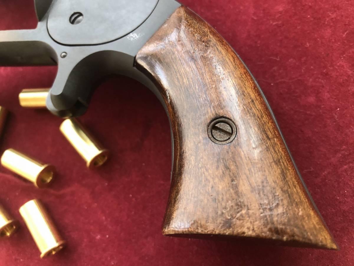 坂本龍馬の銃 S&W Model2 Marushin マルシン HWモデルガン 木製グリップ付_画像9