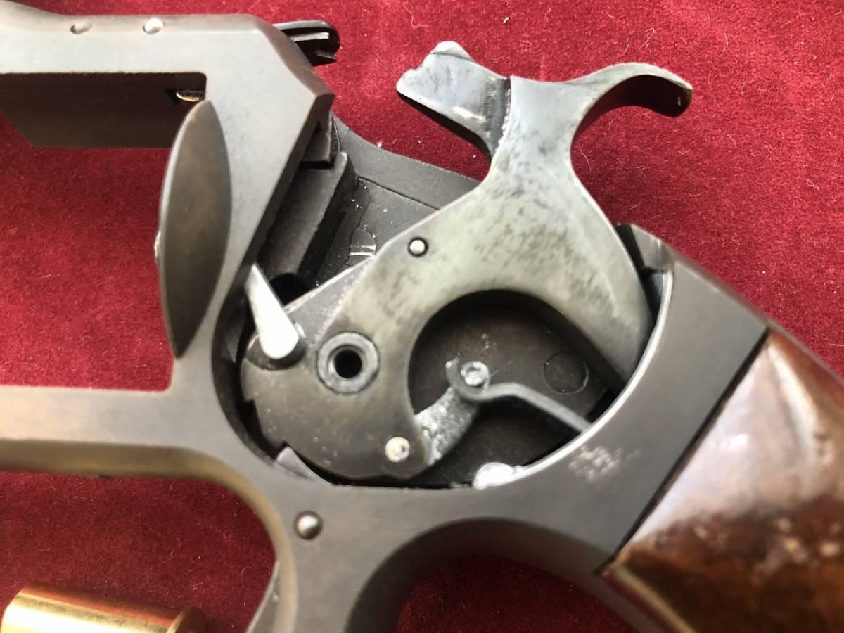 坂本龍馬の銃 S&W Model2 Marushin マルシン HWモデルガン 木製グリップ付_画像3