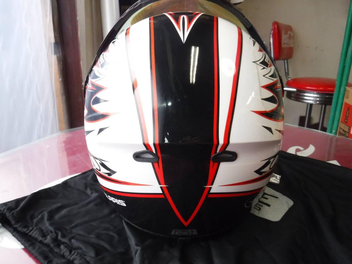 即納 ポラリス 純正 スノーモービル用 ヘルメット XL:61-62cm AF1.5 ブラックxホワイトxデュアルシールド ゴーグルいらず polaris_画像7