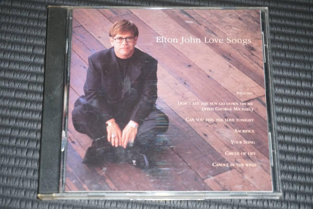 ◆Elton John◆ Love Songs バラード・ベスト CD エルトン・ジョン 輸入盤