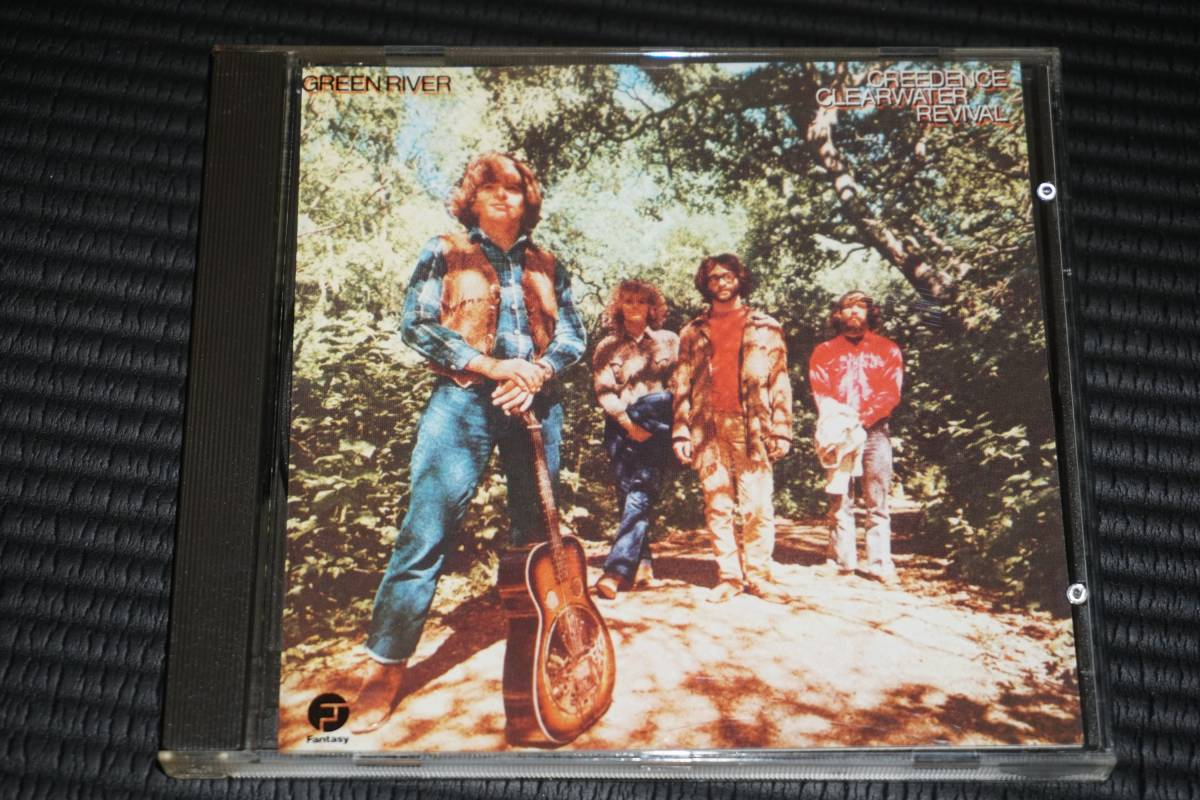 ◆Creedence Clearwater Revival◆ Green River 輸入盤 CCR CD