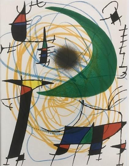 【特価】 ≪    ミロ    ≫  オリジナルリトグラフ【石版画】    Ⅴ    1972年    JOAN MIRO_画像2