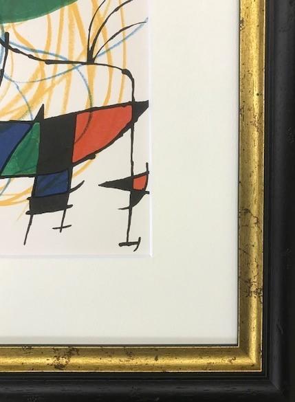 【特価】 ≪    ミロ    ≫  オリジナルリトグラフ【石版画】    Ⅴ    1972年    JOAN MIRO_画像3
