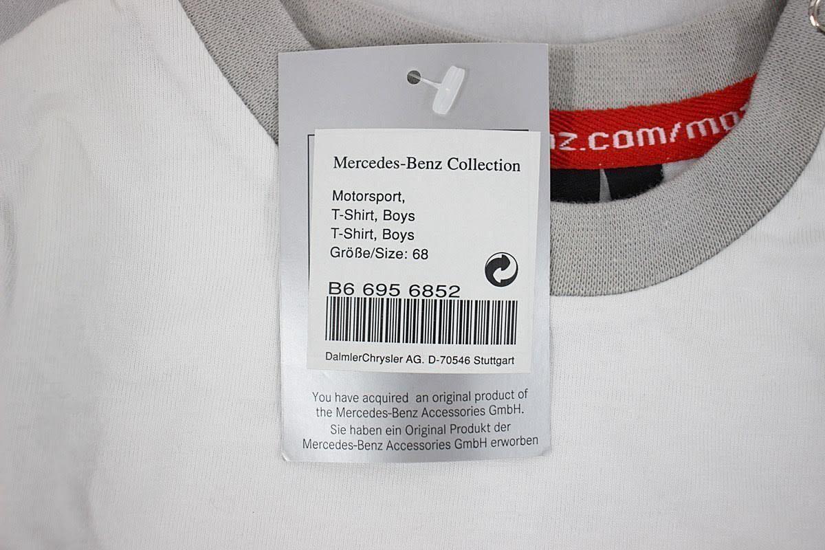 ☆タグ付き保管品☆Mercedes-Benz メルセデスベンツ☆半袖Tシャツ☆Boys ボーイズ☆Size 68 サイズ68☆_画像6